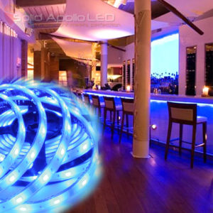 Waterproof led lighting becoming the best lighting product for use low profile blue led strip under counter aloadofball Images