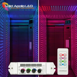 Easily Control Color Changing RGBW LED Lights