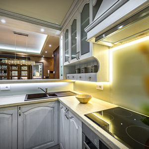 Combination of Pure White and Warm White Light in the Kitchen