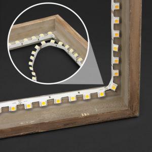 Utilizing the 3D LED Strip Light for Inner Edge Lighting
