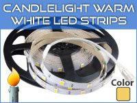 CandleLight Warm LED Strips