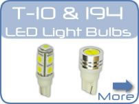 LED 194 & T10 Car Bulbs