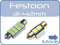 LED Festoon Car Lights