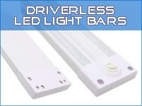 Driverless LED Light Bars