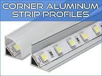 Corner LED Strip Profiles