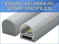 Dome LED Strip Profiles