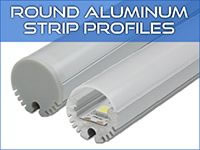Round LED Strip Profiles