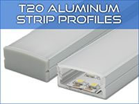 T20 LED Strip Profiles
