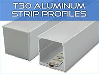 T30 LED Strip Profiles