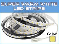 Super Warm White LED Strip