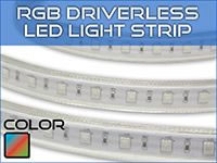 Ultra Bright RGB Driverless Strip