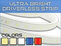 Ultra Bright Driverless LED Strip