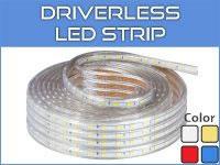 Driverless LED Light Strips
