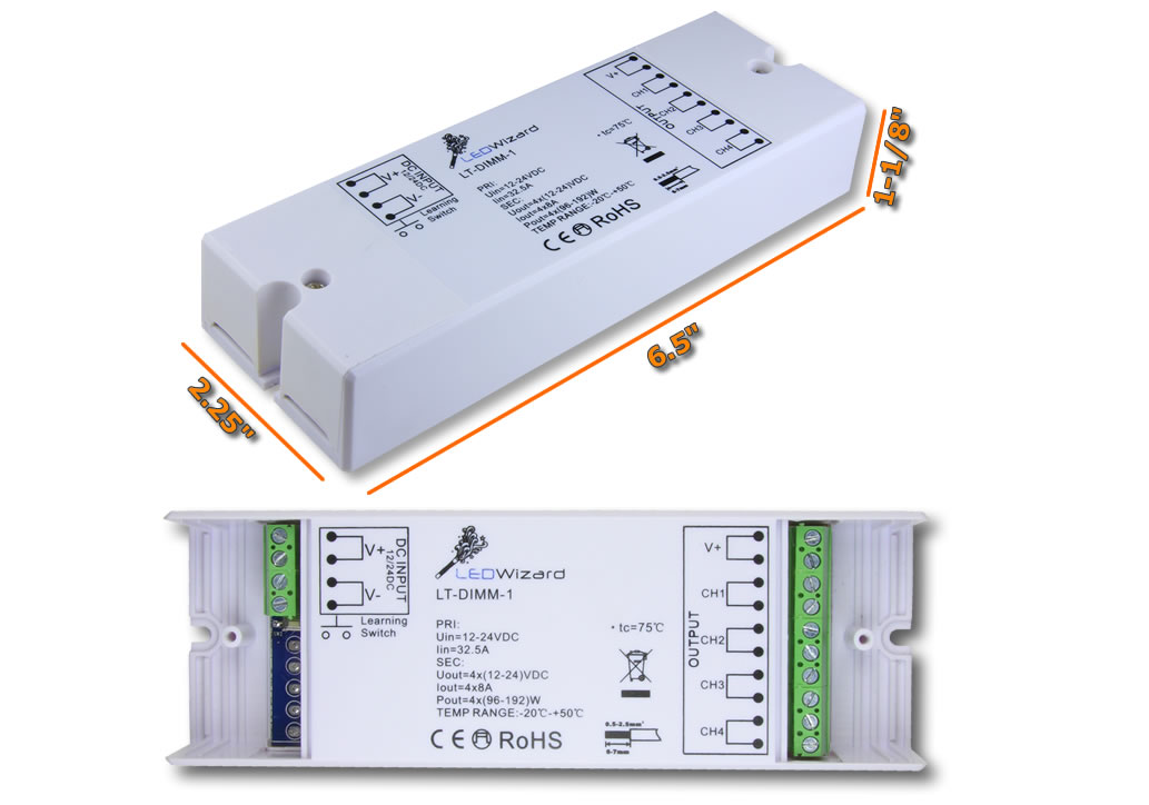 5 Zone LED Dimmer