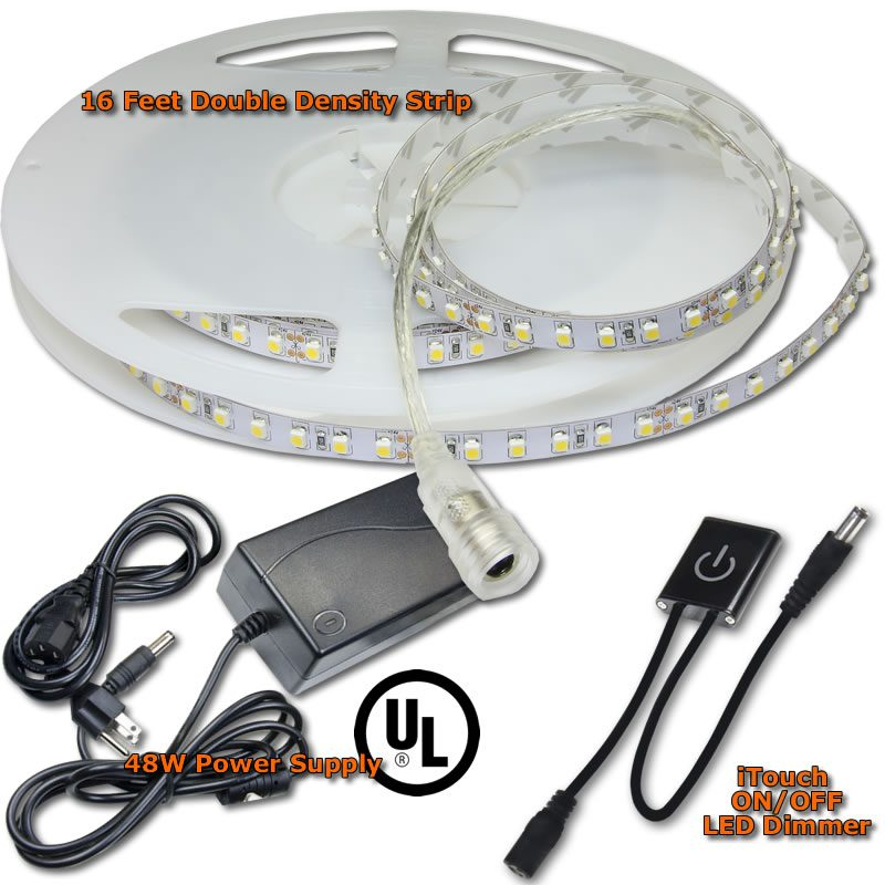 Double Bright LED Strip Kit