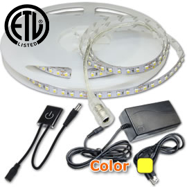 Double Bright Dimmable 16ft LED Strip Kit