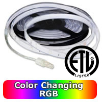 RGB Waterproof LED Strip  33W