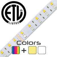 1 Foot ColorPro RGB + White LED Strip