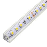 Clear Corner LED Strip Profile