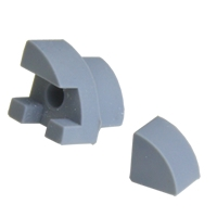 End Caps for Corner Profile