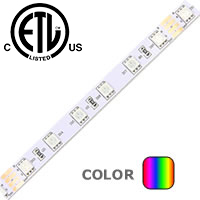 1 Foot High Brightness RGB LED Strip