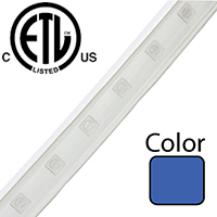 Blue Driverless 5050 LED Strip Light