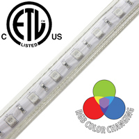 Driverless RGB LED Strip Light