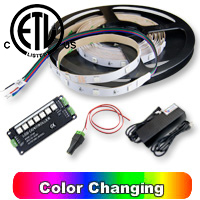 RGB LED Strip 16 feet Kit