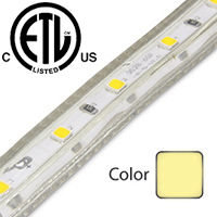 Warm White Driverless 3528 LED Strip Light