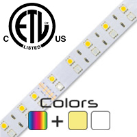1 Foot ColorPro RGB + White LED Strip