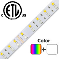 ColorPro RGB + Daylight White LED Strip