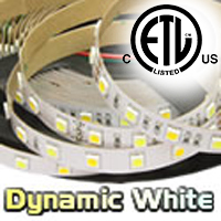 Dynamic White LED Strip Light 72W-3100lm
