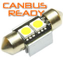 31mm Xenon White Festoon  2 SMD