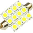 41mm Xenon White Festoon 12 SMD
