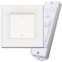 Gecko Wireless One Zone LED Wall Dimmer