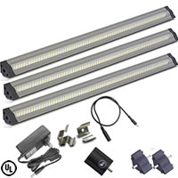 Dimmable 3 X 12in LED Light Bar Kit