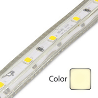 Daylight White Driverless 3528 LED Strip Light
