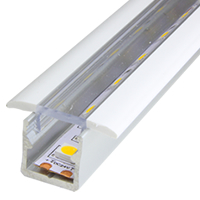 Mini 15 Crystal Recessed LED Strip Profile