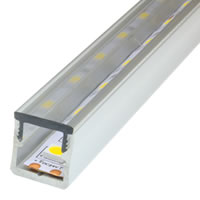 Mini 15 Crystal Aluminum LED Strip Profile