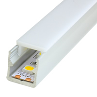Mini 15 Opal Aluminum LED Strip Profile