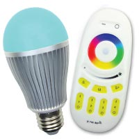 Magic Rainbow Wireless LED Light Bulb
