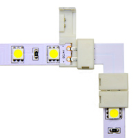10mm Snap&Lite LED Strip L Connector