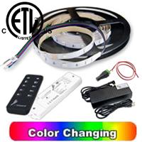 RGB LED Strip 16 feet Kit with Remote