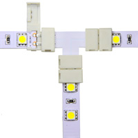 10mm Snap&Lite LED Strip T Connector