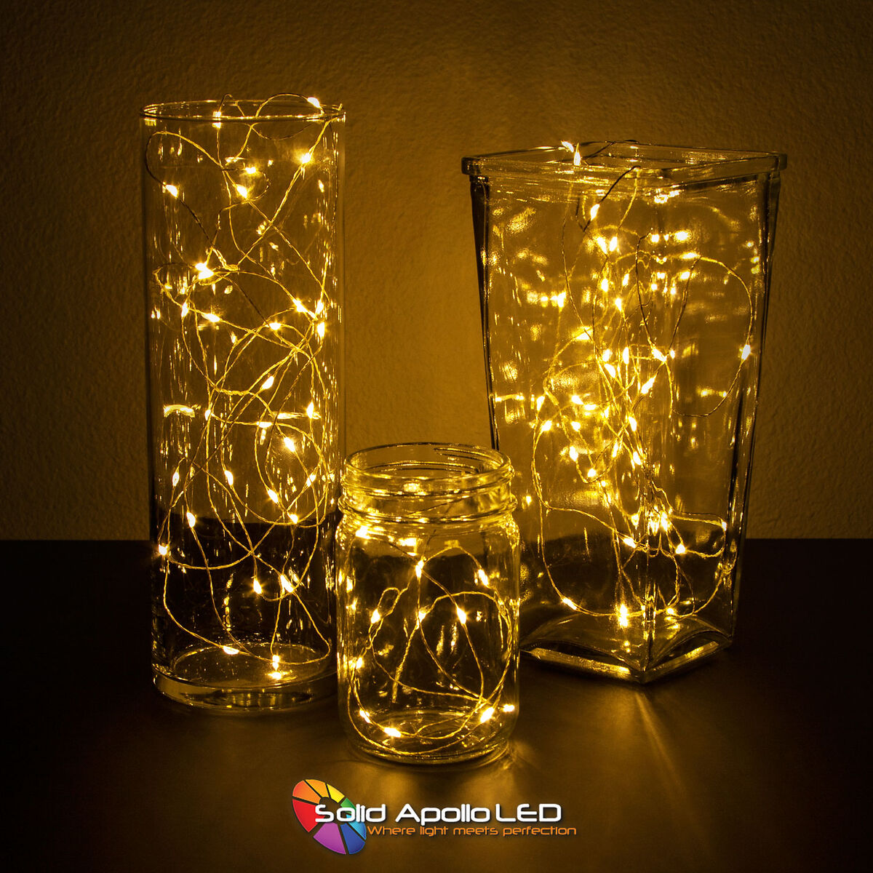 Warm White LED String Light 32ft
