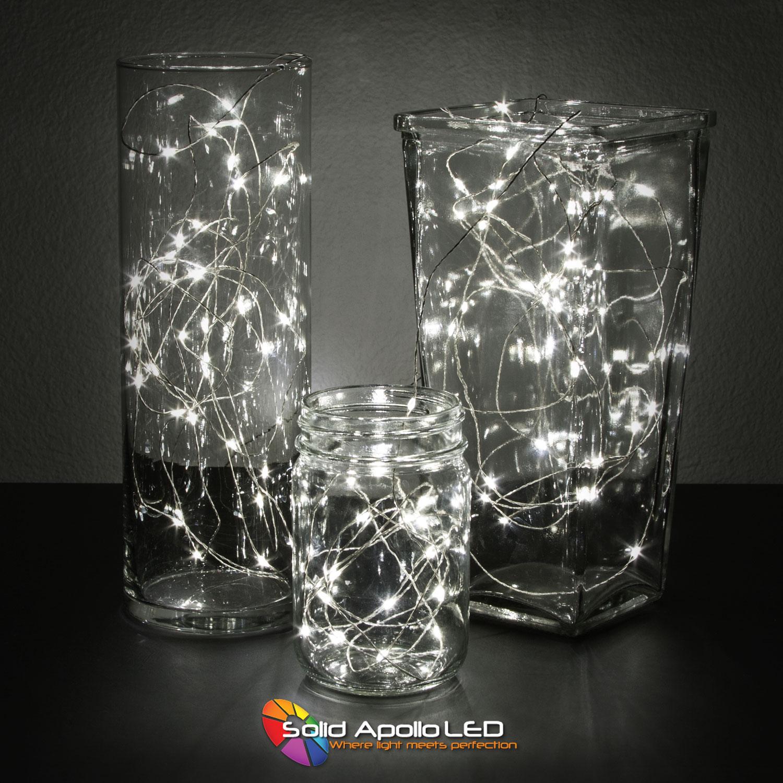 White Led String Lights 32ft