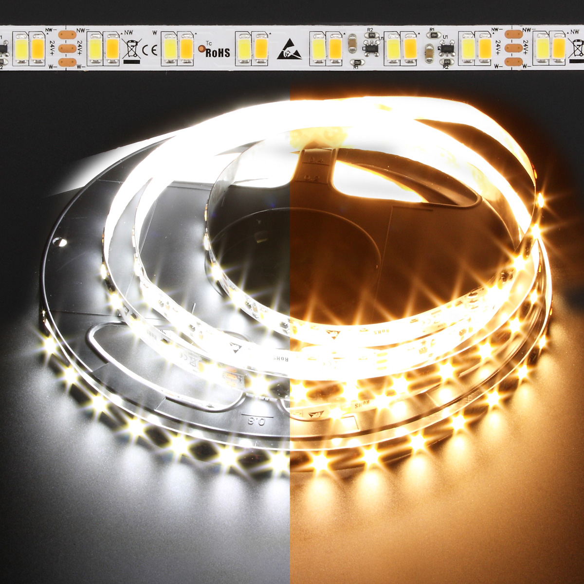 Dynamic white constant current pro line 5730 135w led strip light dynamic white constant current pro line 5730 132w led strip light aloadofball Images