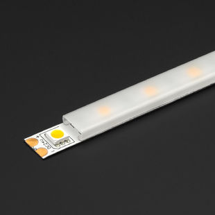 """How A Diffuser Works >> 78"""" Milky LED Strip Diffuser/Cover"""