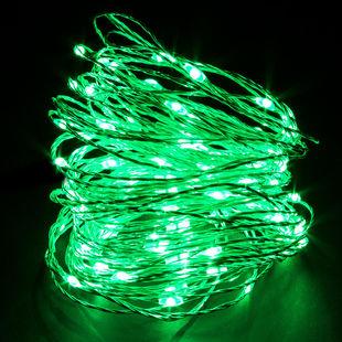 Green LED String Light 65ft